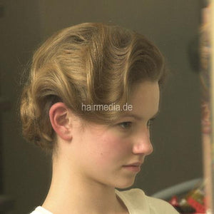 6048 teen s0469 complete wash, set, updo 61 min video and 27 pictures DVD