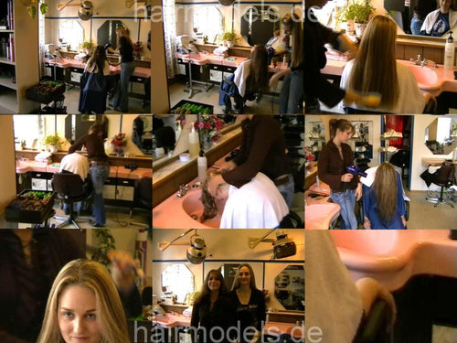 523 Kathrin shampooing 33 min video for download