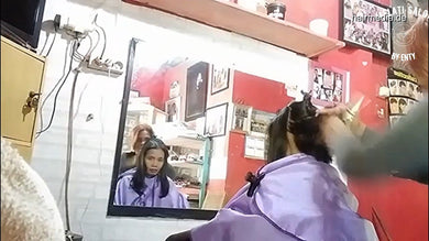 8600 04 women haircut because of losing a bet 6 min video for download