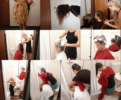 9107 CZ party shampooing 29 min video for download