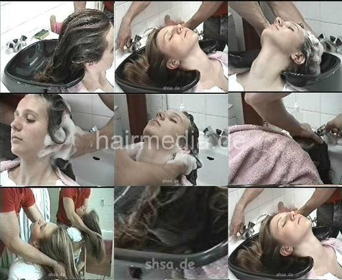960 shampooing in France, Part 1 42 min just shampooing video for download