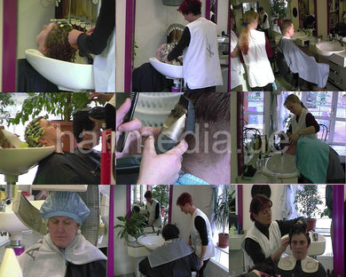 1011 One complete day in german DDR / GDR students salon 102 min video for download