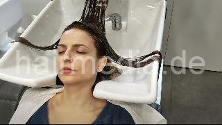 1146 210109 Oezge pampering rich lather wash scalp massage by barber and blow out