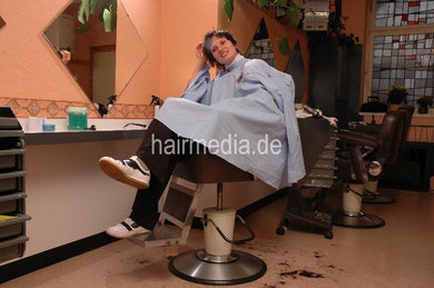 h117 Jennifer by Katia barbershop 2 haircut 17 min video for download