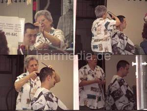 1013 s0109 buzz headshave by senior barberette 5 min video for download