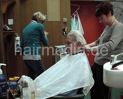 264 long gray hair 5 min video for download