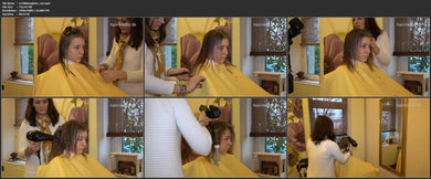 4052 s1788 haircut in Mom´s salon 14 min video for download