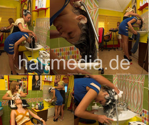 9135  Srdjana and Alexandra s1391 complete 88 min video and 75 pictures DVD