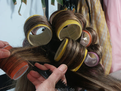 121 Flowerpower 2, Part 8 AnjaS, rollerset XXL rollers XXL capes tie closure