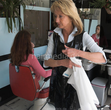881 forced and handcuffed haircut in german kultsalon complete video 50 min DVD