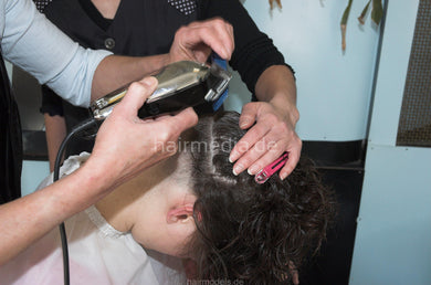 881 punishment handcuffed haircut and napeshave - short edition video for download