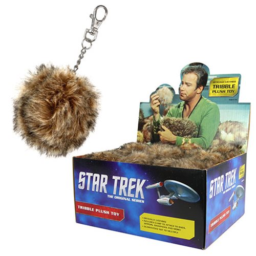 Star Trek Tribble Plush Key Chain - TheNerdBox