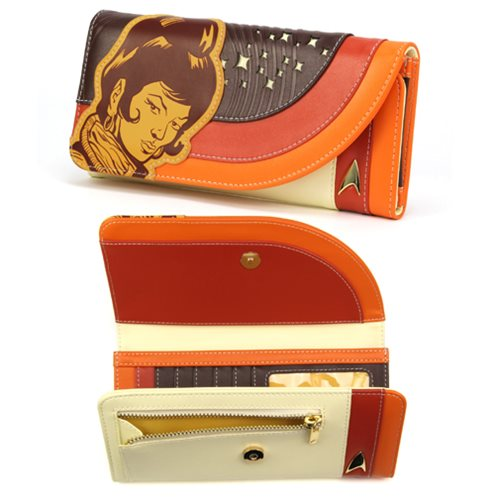 Star Trek The Original Series Uhura Retro Space Ladies Wallet