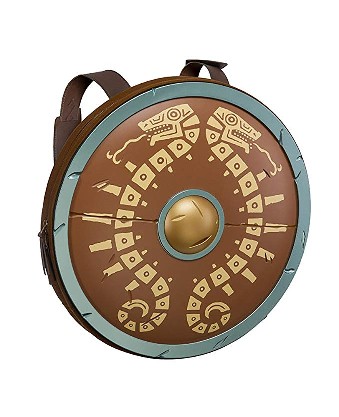 Zelda Breath of the Wild Shield Backpack - TheNerdBox