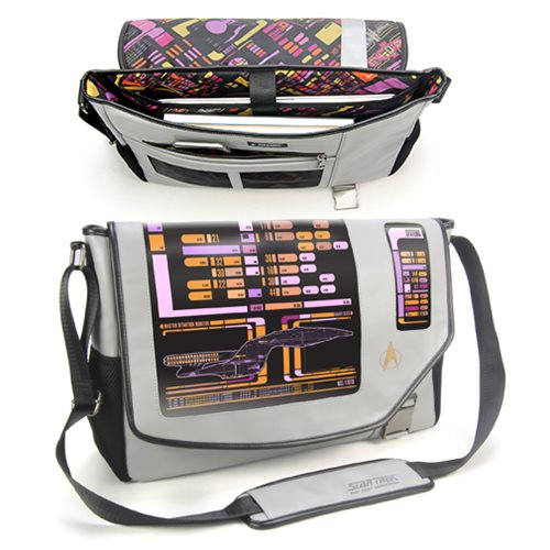 Star Trek: The Next Generation PADD Messenger Bag - TheNerdBox