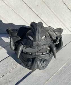 Ghost of Tsushima Japanese Cosplay Oni Samurai mask - TheNerdBox