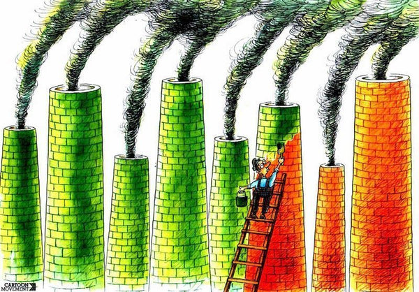 Greenwashing, by lorenafdezblog.com