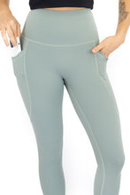 Load image into Gallery viewer, 7/8 Shaper Move Leggings + Pockets - Spearmint