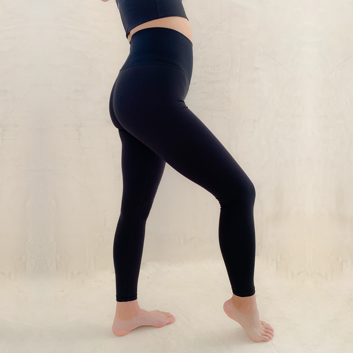 Shapewear Leggings - High Waisted - Full Length - Black