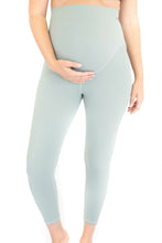 Load image into Gallery viewer, 7/8 Maternity Leggings - Spearmint