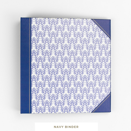 Binder System || Navy 3-Ring Binder