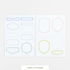 Accessory || Label Stickers