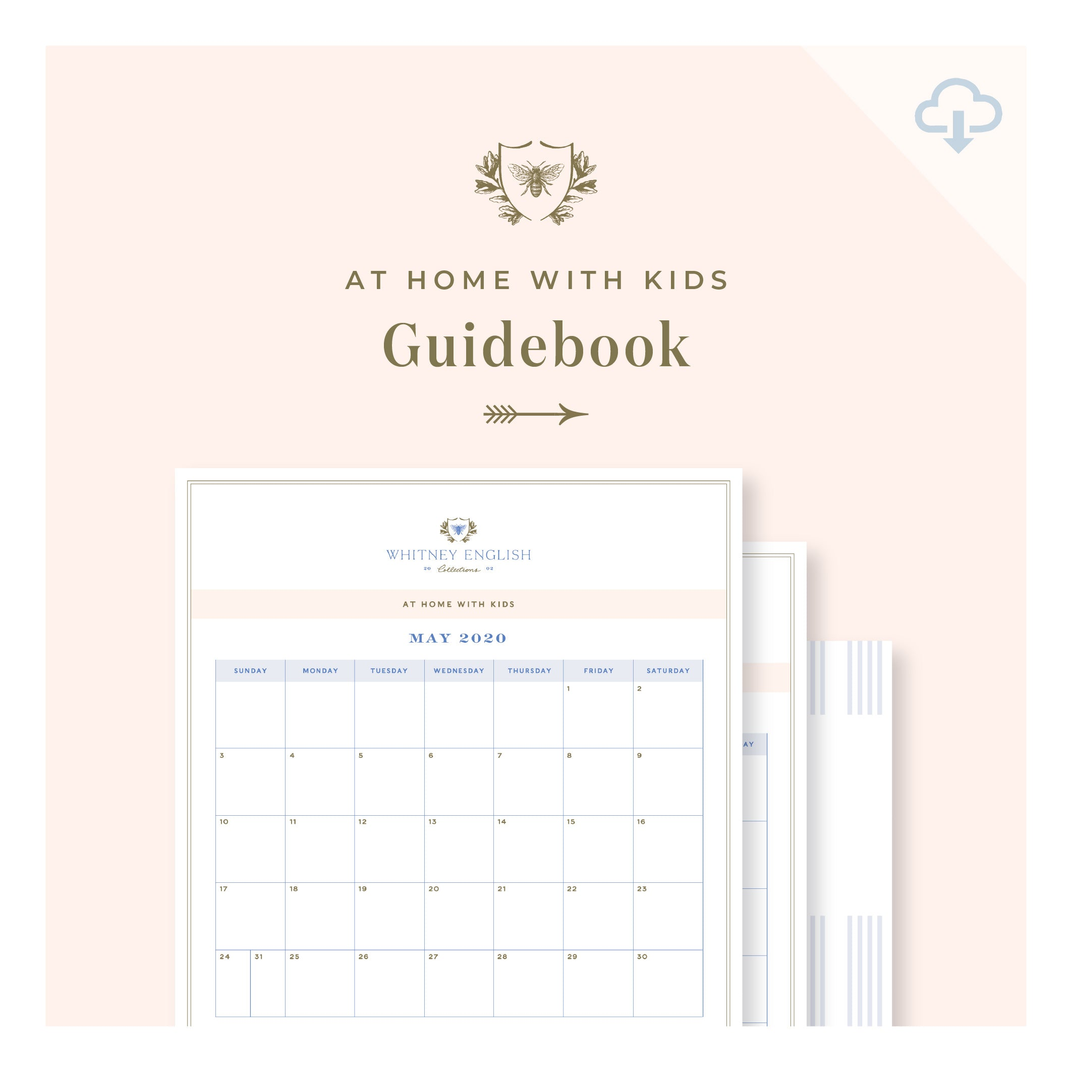 Printable || At Home with Kids Guidebook