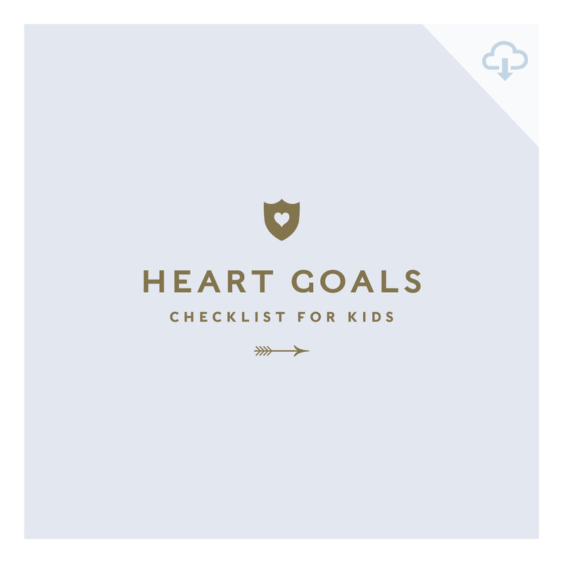 Printable || HEART Goals for Kids