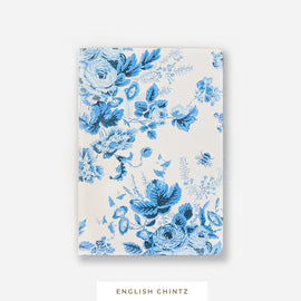 Pocket Notebook || English Chintz Blue