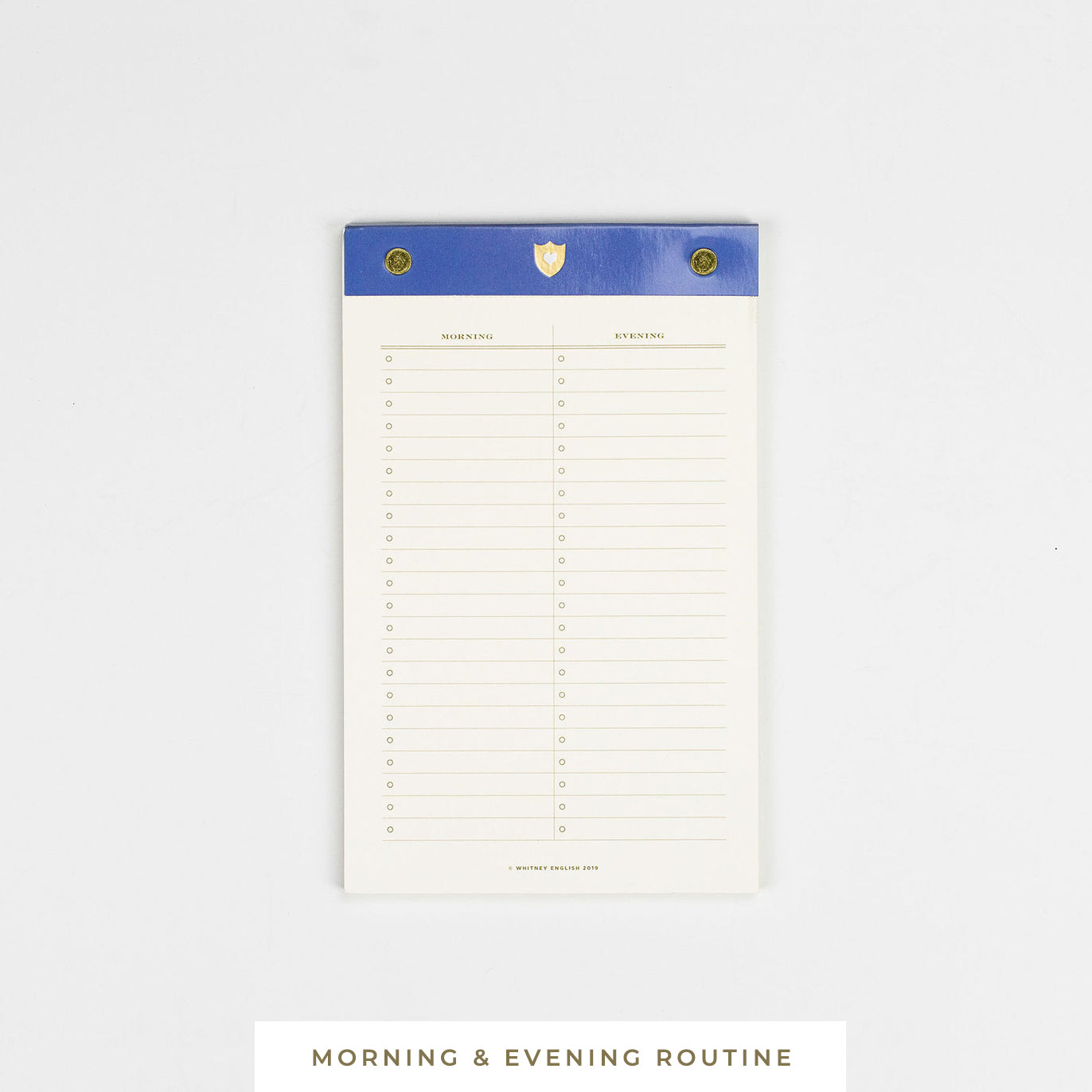 Notepad || Morning & Evening Routine