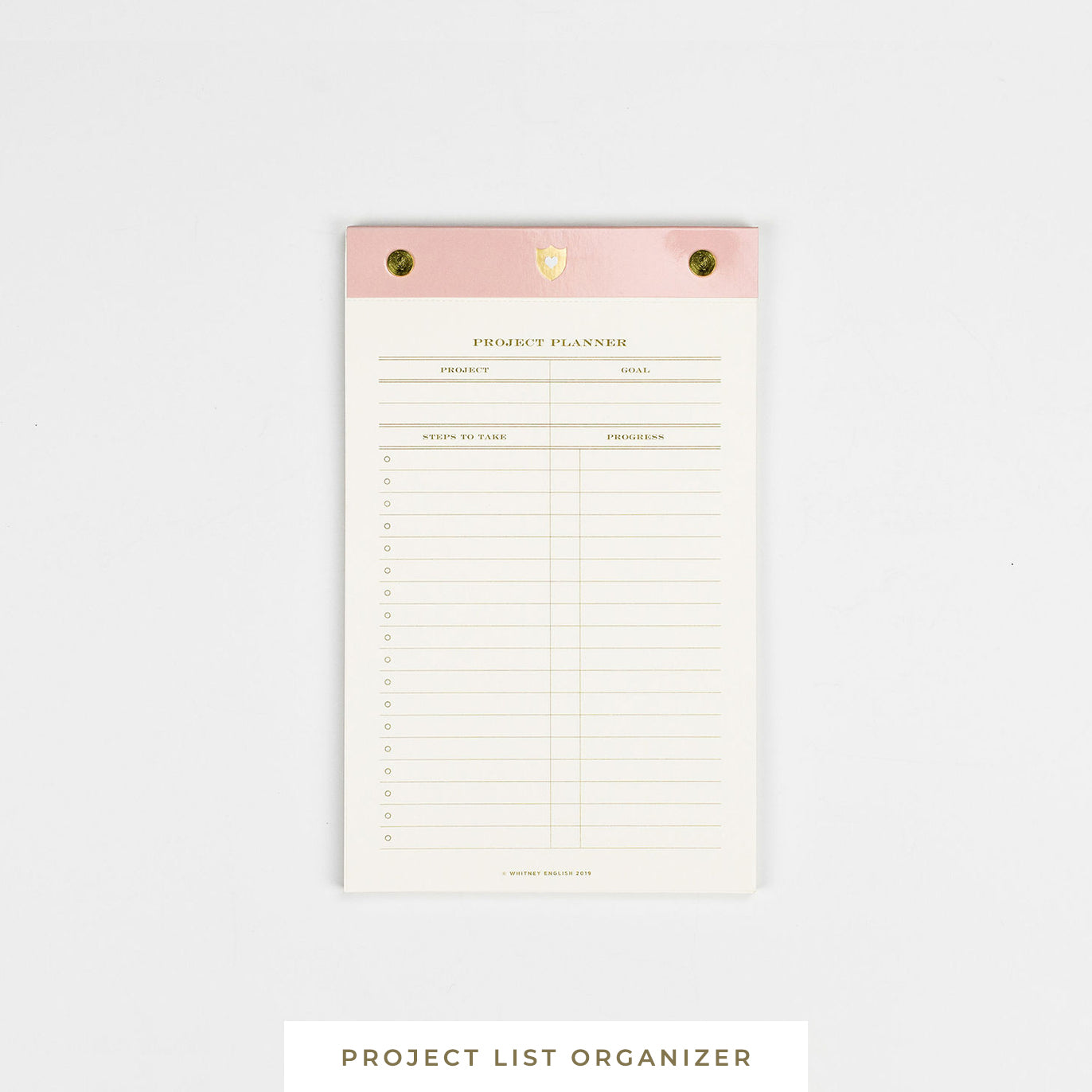 Notepad || Project List Organizer