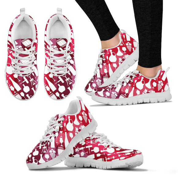 Splashy Wine sneakers