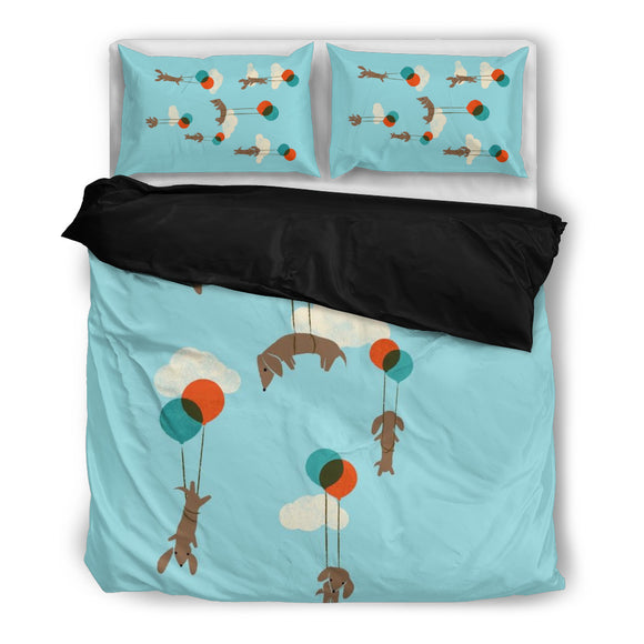 Dog Balloons Bedding