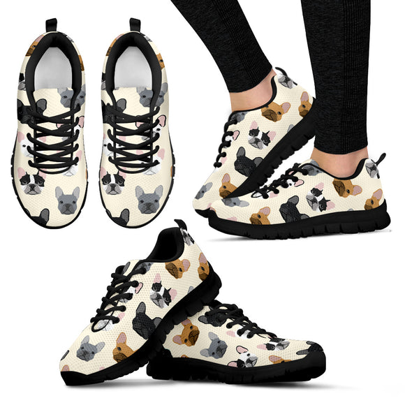 Stylish Bulldog Women's Sneakers