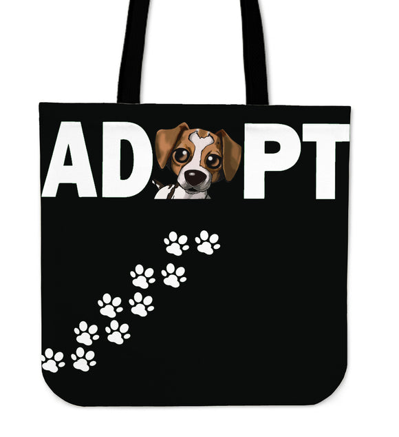 One Of A Kind Adopt-A-Dog Tote Bag