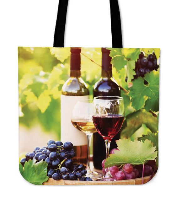 Stylish Wine Tote Bag