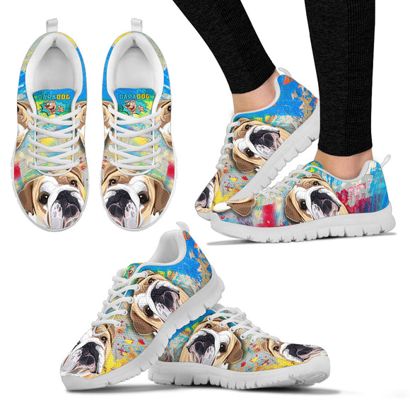 Super Fun Bulldog Sneakers