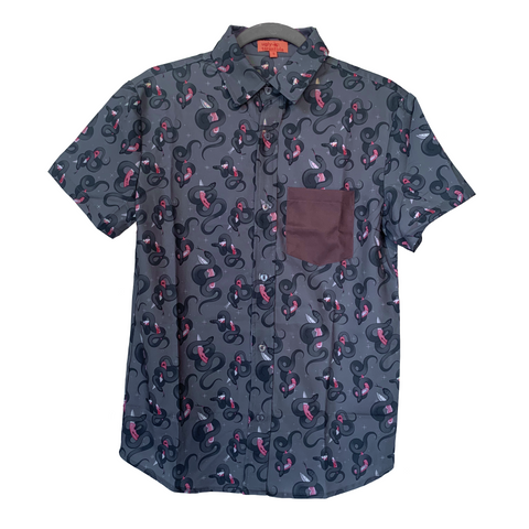 Snake Blade Button Up Shirt