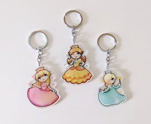 Mario Princess Charms