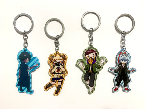 BNHA Villains Charms