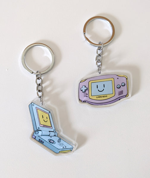Acrylic Gamefriend Charms