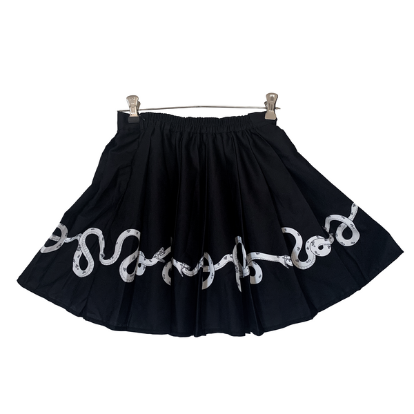 Ouroboros Pleated Skirt