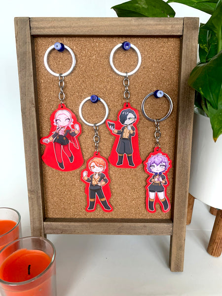 FE3h Black Eagles Charms