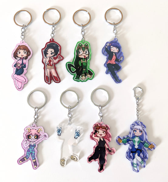 BNHA Girls Charms