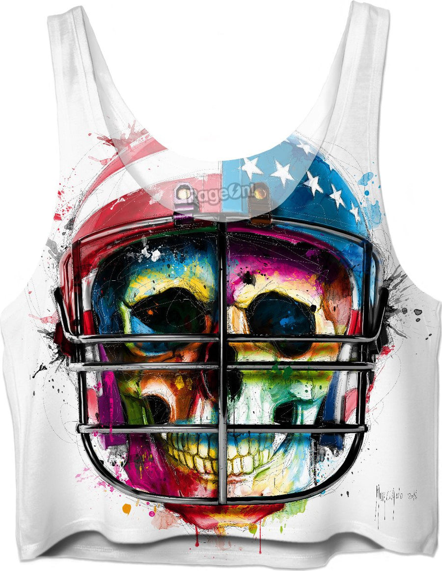 Born in the USA Crop Top by Patrice Murciano