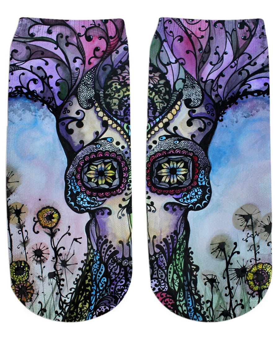 Garden of Good Intent Ankle Socks