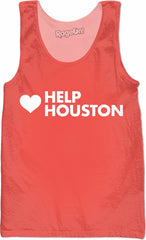 Help Houston Peach Tank Top