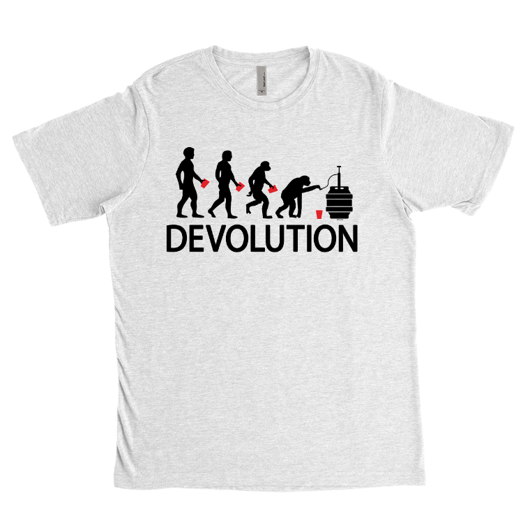 Devolution Beer Ape T-Shirt