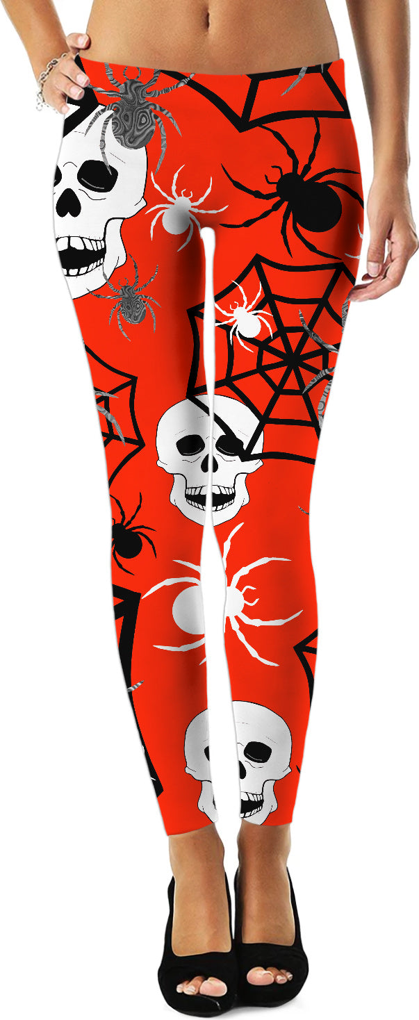 Fright Night Skulls Leggings