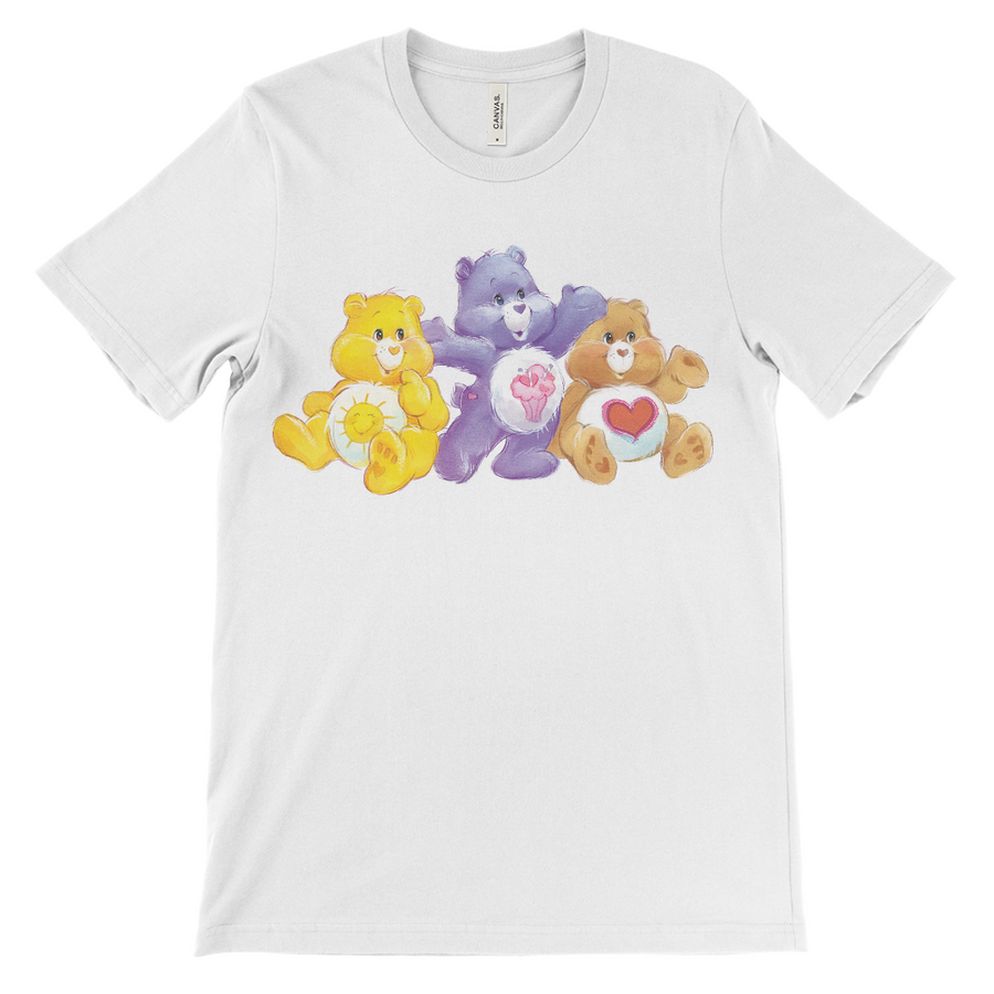 Cares Bears Sunshine, Share, and Tenderheart Bear T-Shirt